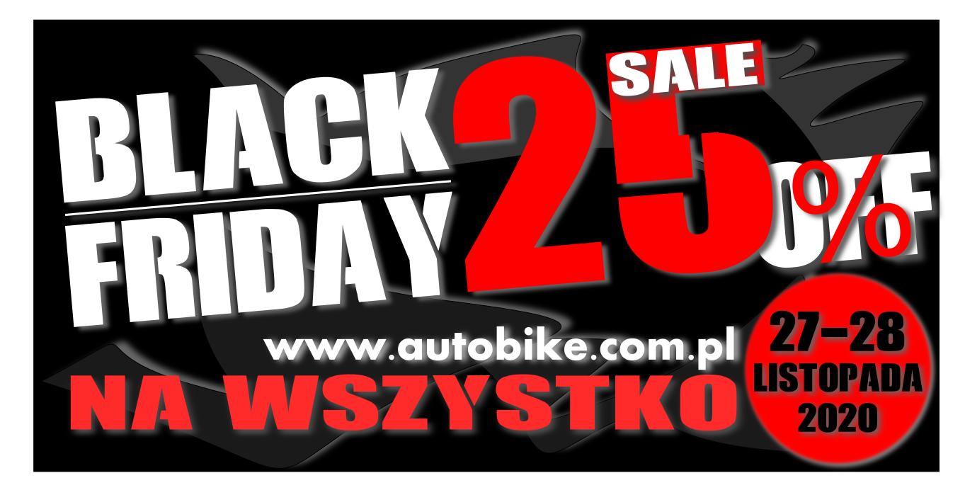 BLACK FRIDAY W AUTOBIKE, ROWERY TANIEJ DO 25%